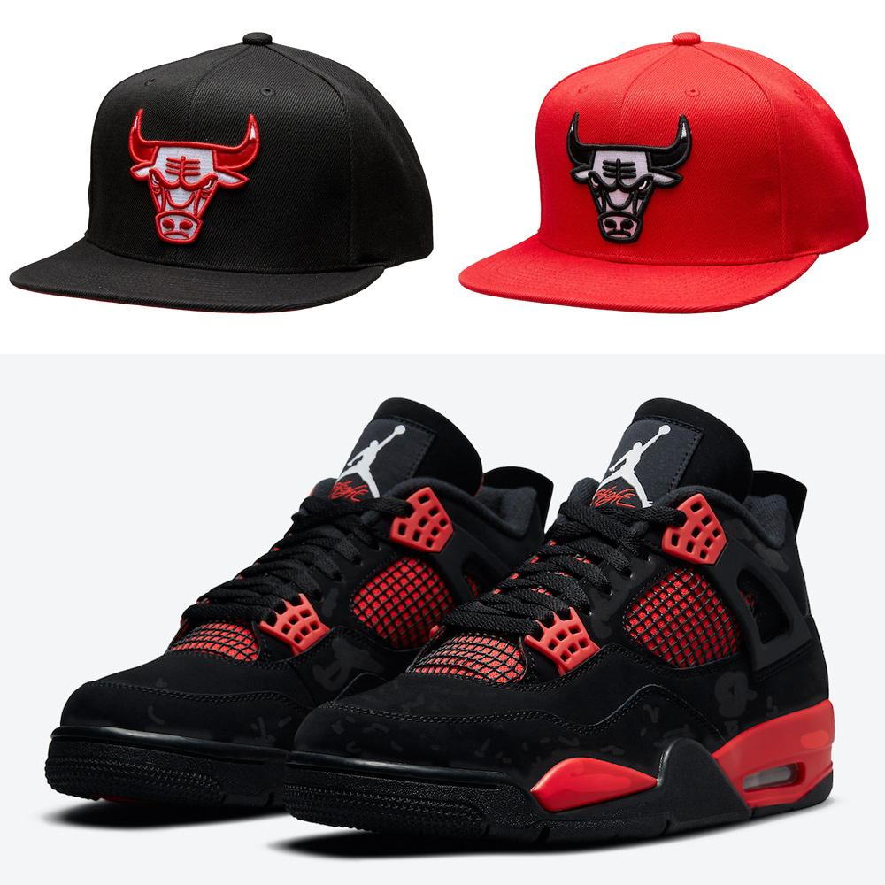 air-jordan-4-red-thunder-hats