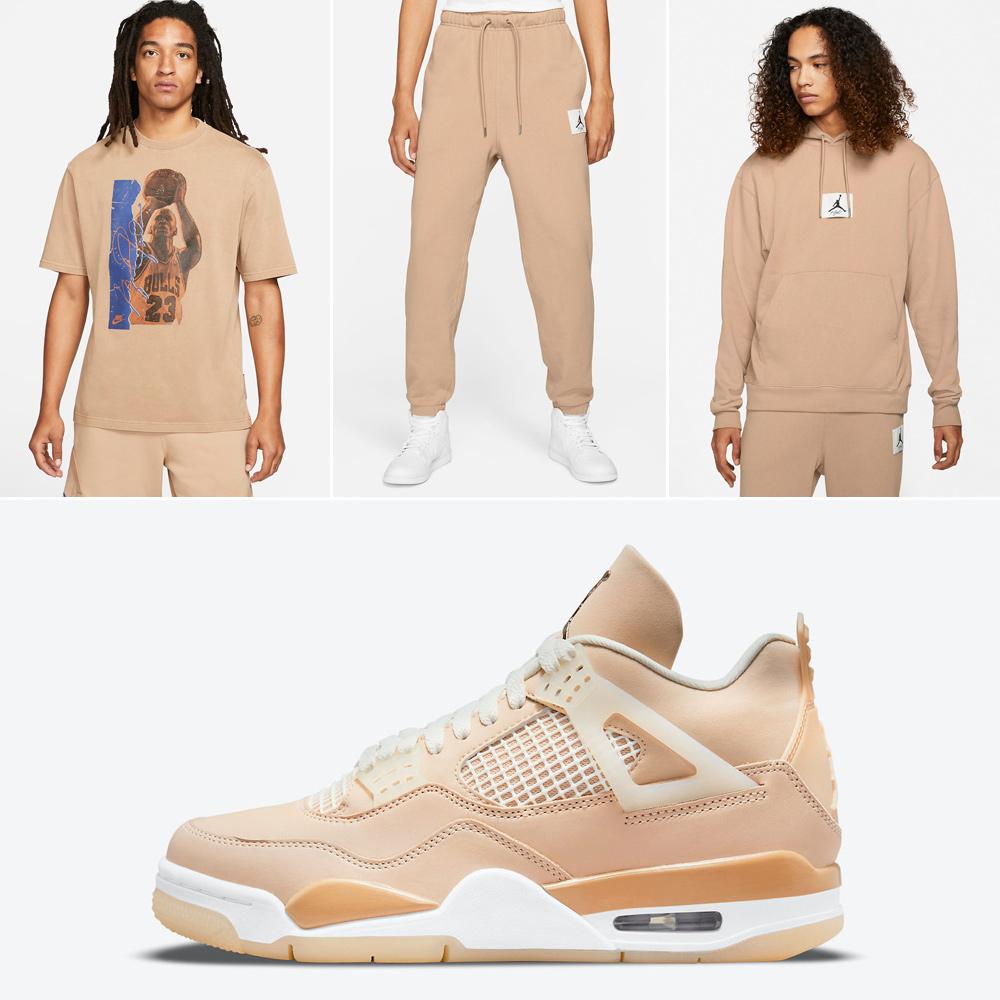 air-jordan-4-shimmer-matching-shirt-apparel