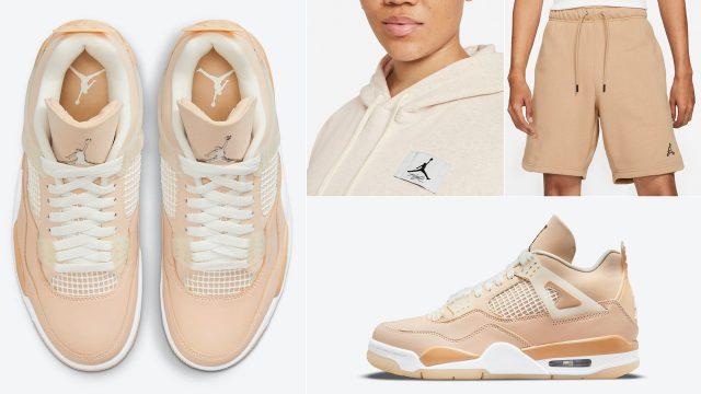 air-jordan-4-shimmer-shirts-clothing-outfits