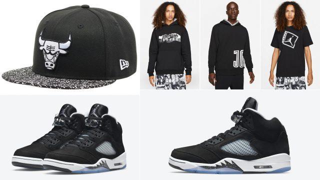 air-jordan-5-oreo-2021-shirt-hat-clothing-outfits
