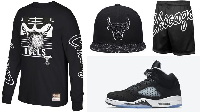 air-jordan-5-oreo-chicago-bulls-hats-shirts-clothing