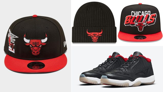hats-to-match-the-air-jordan-11-low-ie-bred