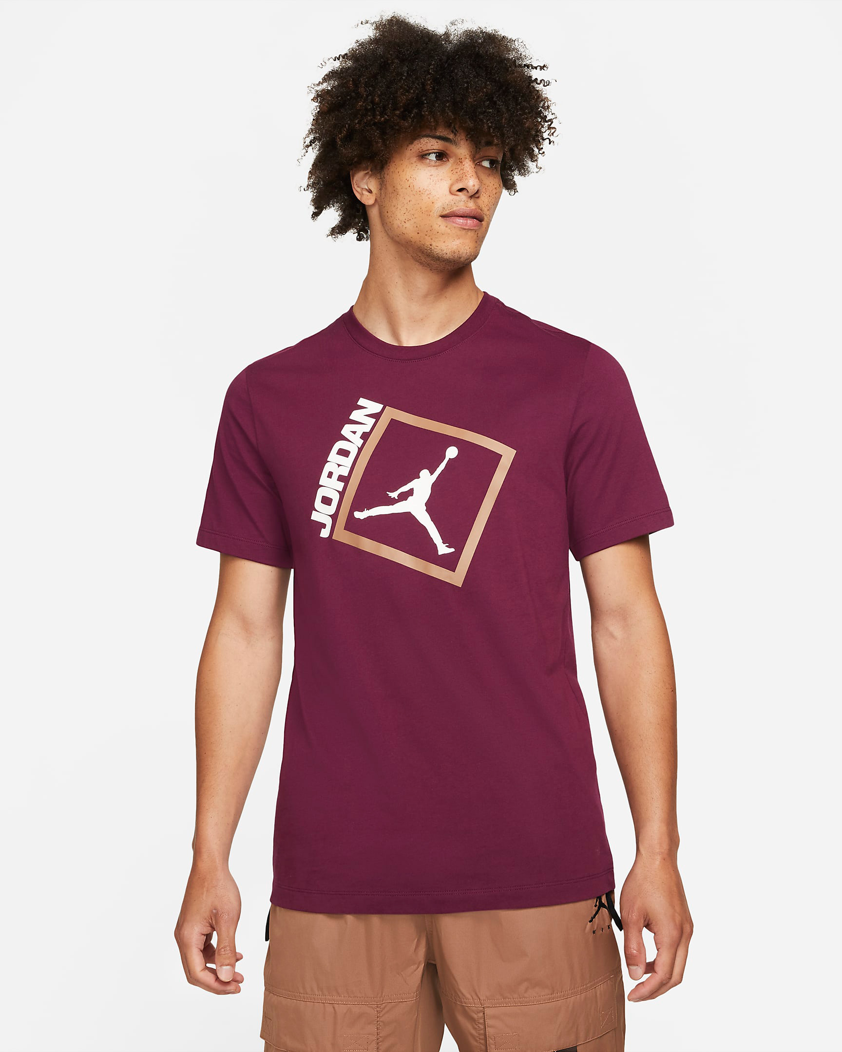 jordan-6-bordeaux-matching-shirt