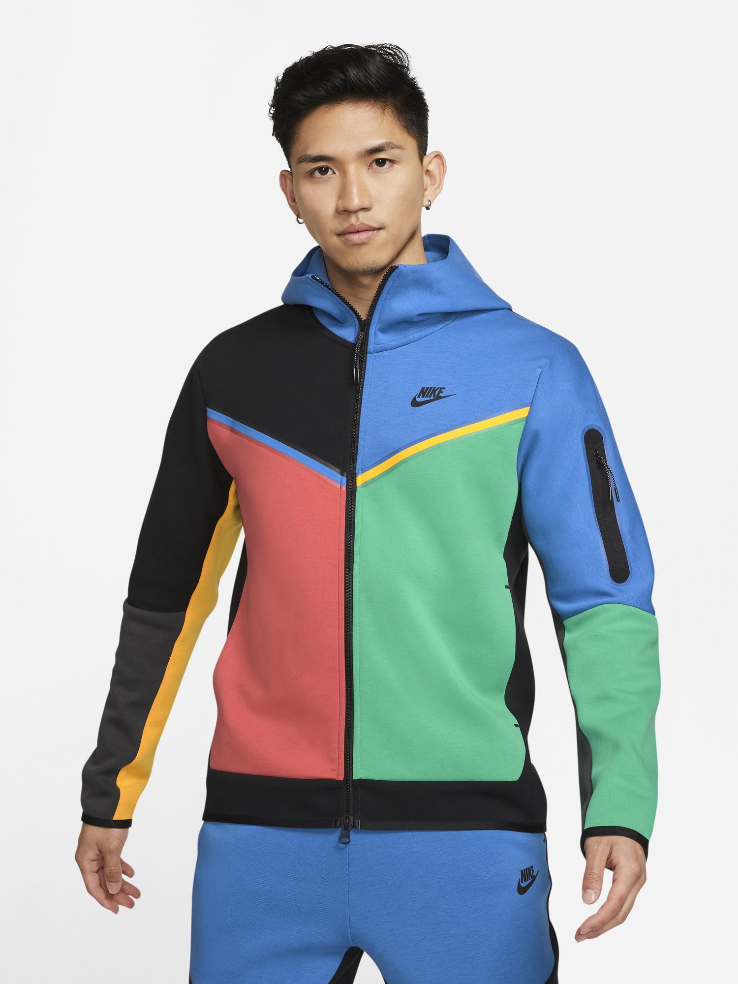 nike-tech-flece-multi-color-hoodie-blue-green-red-1