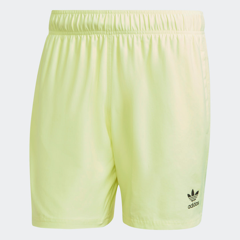 yeezy-slide-green-glow-shorts