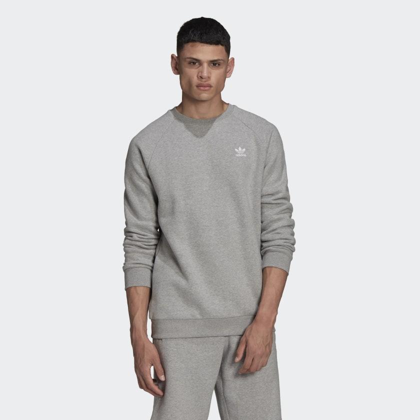 Adicolor_Essentials_Trefoil_Crewneck_Sweatshirt_Grey_H34642_21_model