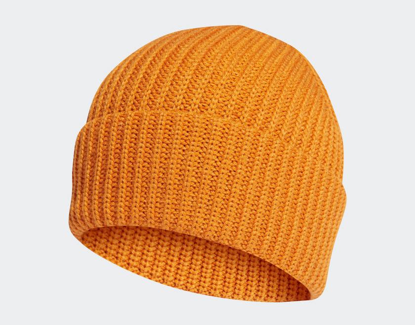 adidas-orange-beanie