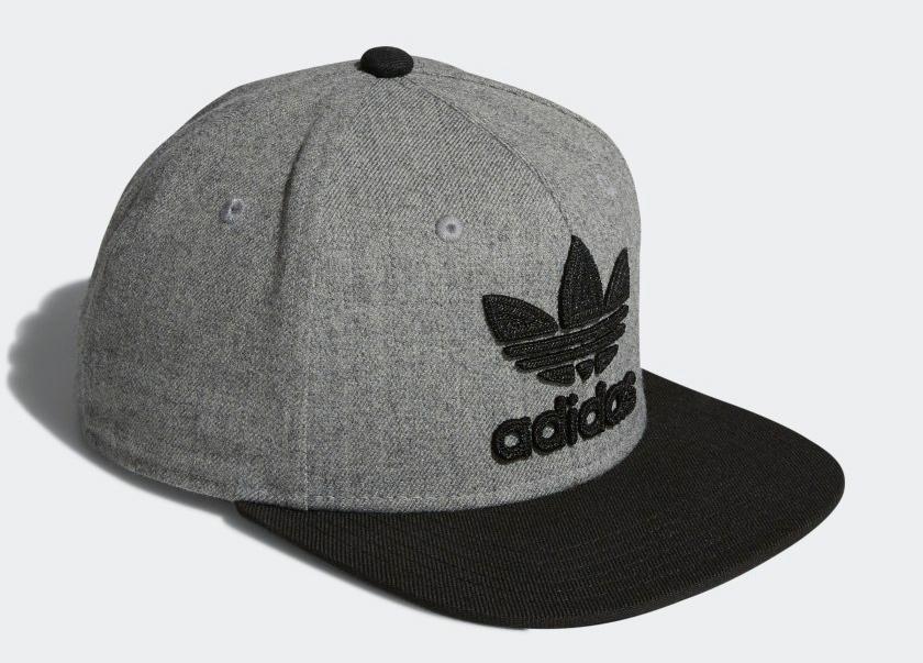 adidas-originals-trefoil-snapback-hat-grey-black