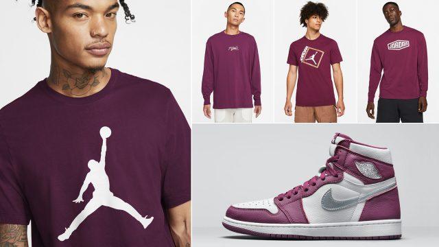 air-jordan-1-high-bordeaux-clothing-shirts-outfits