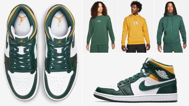 air-jordan-1-mid-sonics-green-yellow-shirts-clothing-outfits