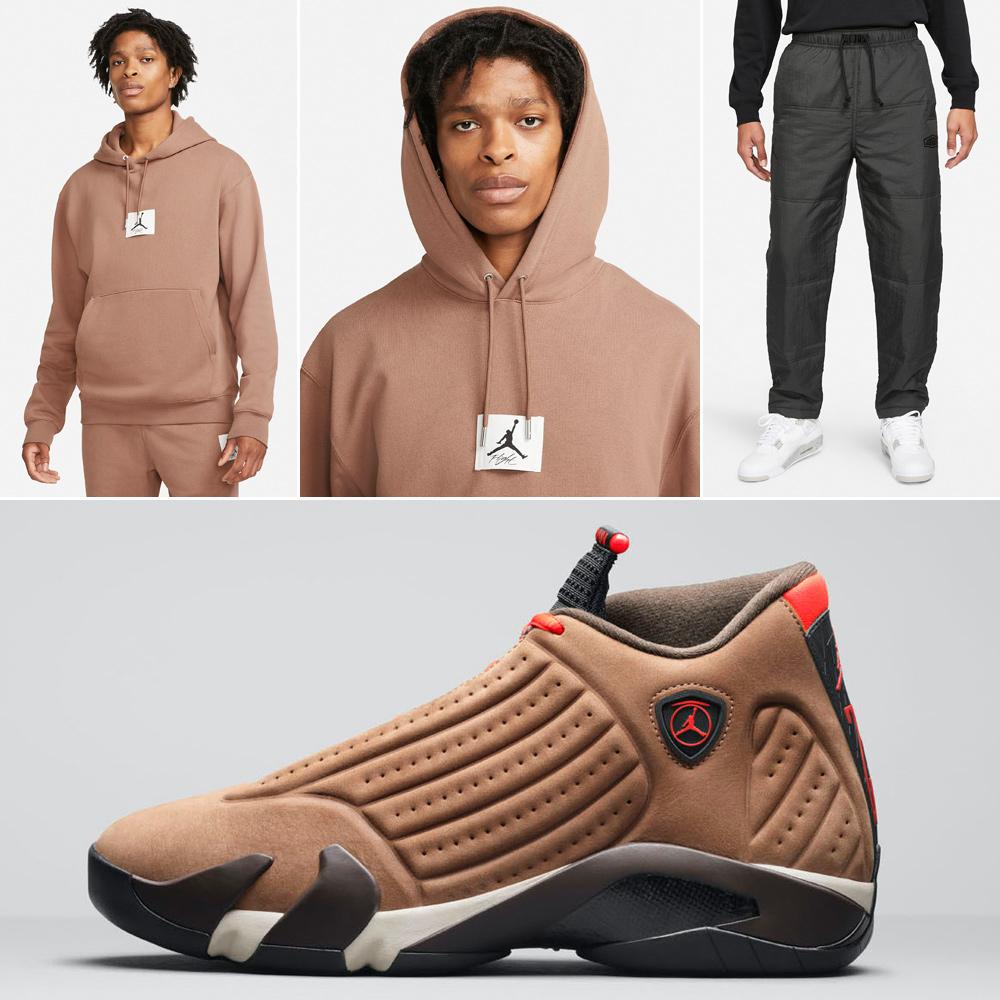 air-jordan-14-winterized-brown-hoodie-pants-outfit