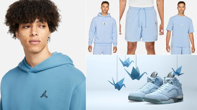 air-jordan-5-blue-bird-clothing-shirts-outfits