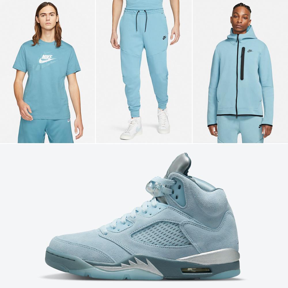 air-jordan-5-bluebird-shirt-clothing-match