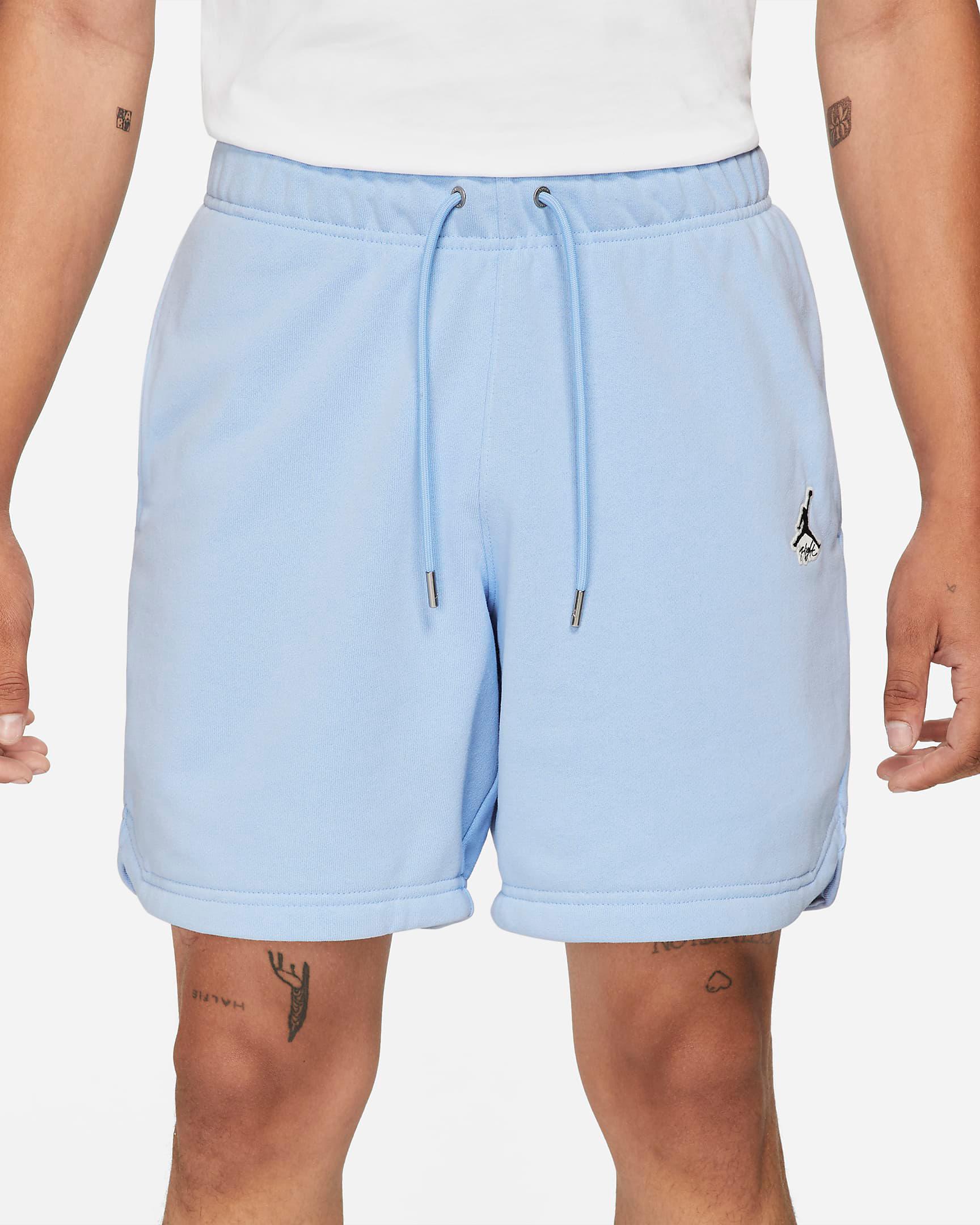 jordan-5-bluebird-shorts