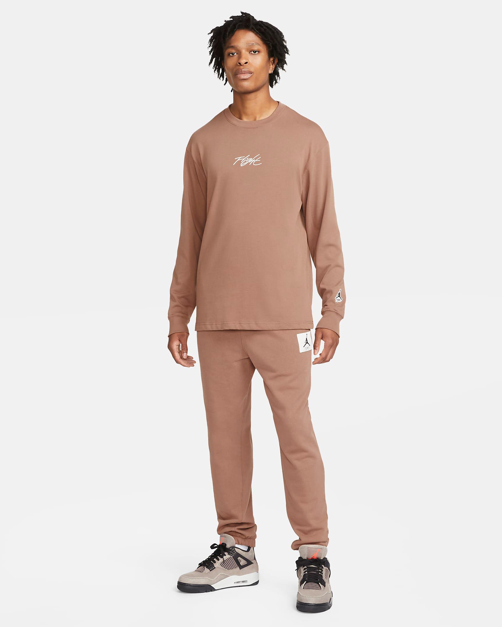jordan-archaeo-brown-shirt-pants-outfit
