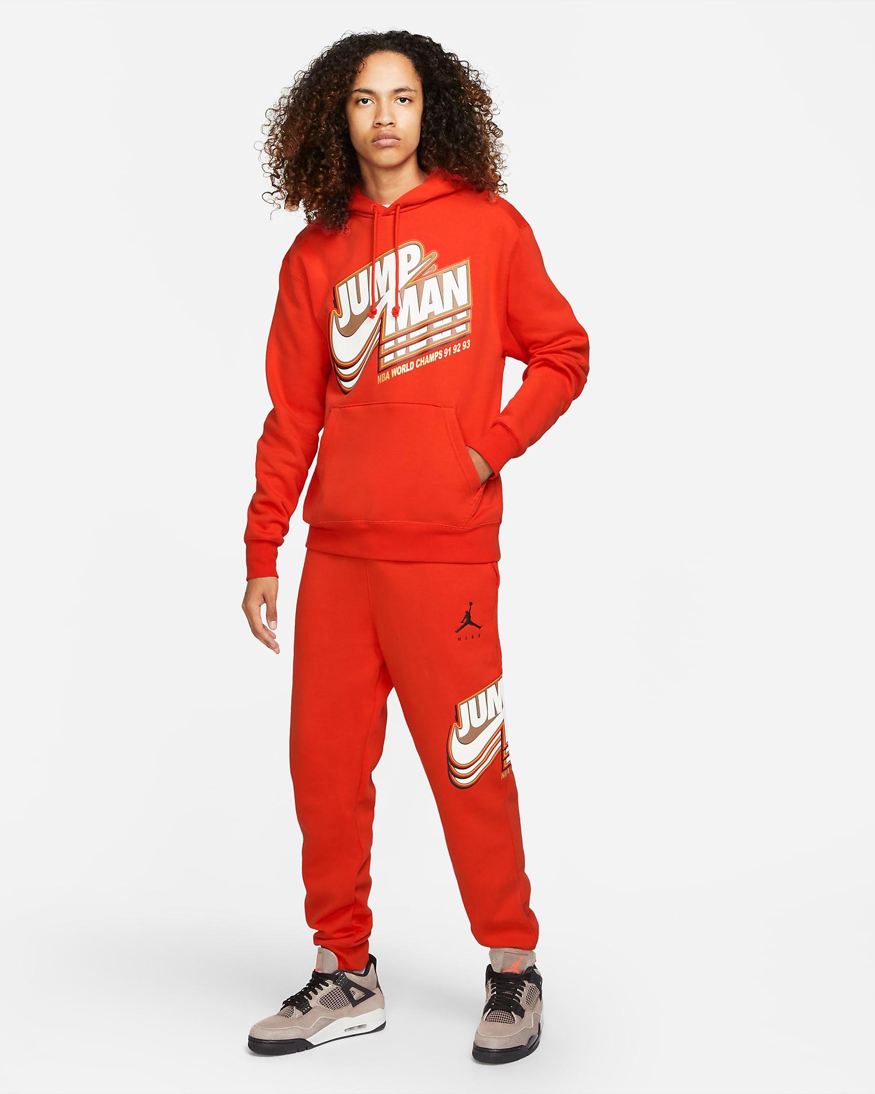jordan-chile-red-jumpman-hoodie-pants-outfit