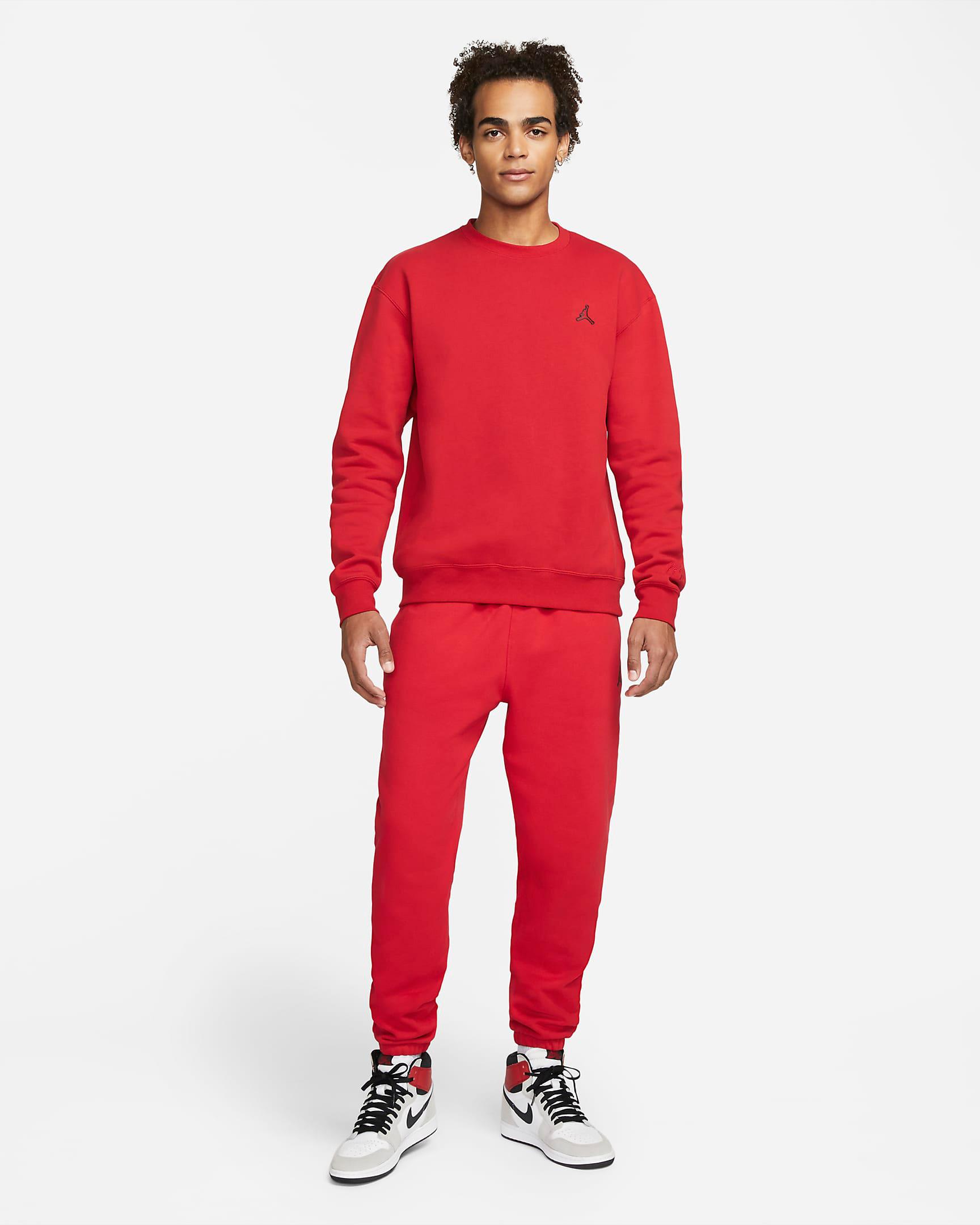 jordan-gym-red-sweatshirt-pants-outfit