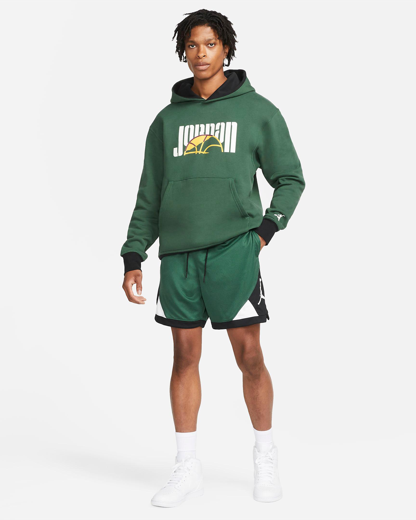 jordan-noble-green-dri-fit-air-diamond-shorts-hoodie-outfit