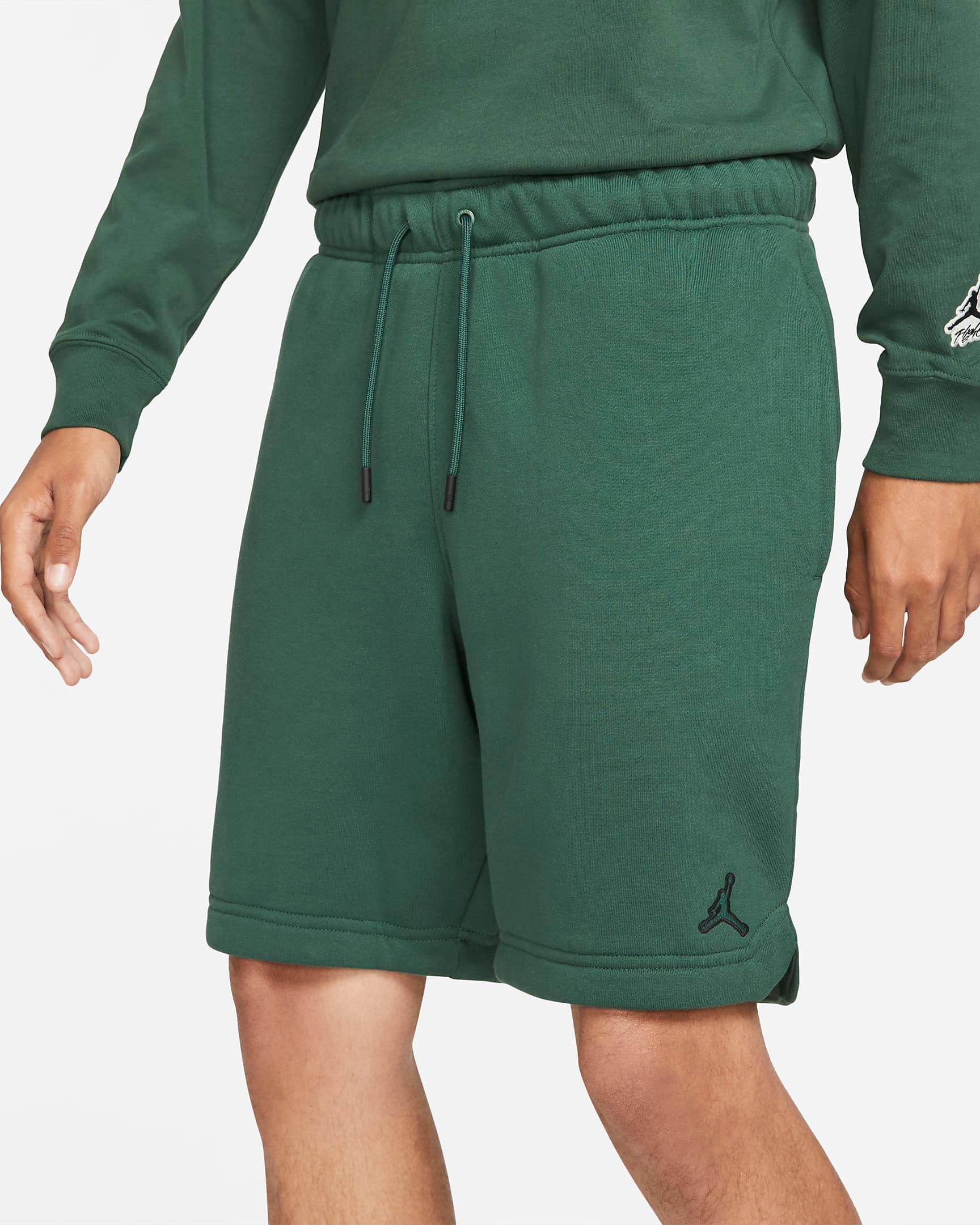 jordan-noble-green-essentials-fleece-shorts-2