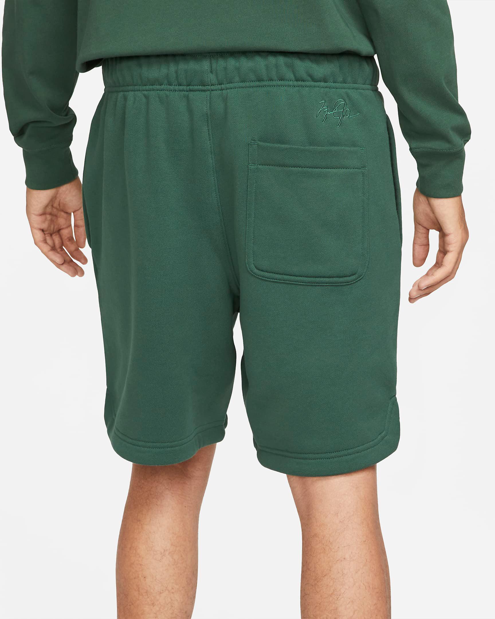 jordan-noble-green-essentials-fleece-shorts-3