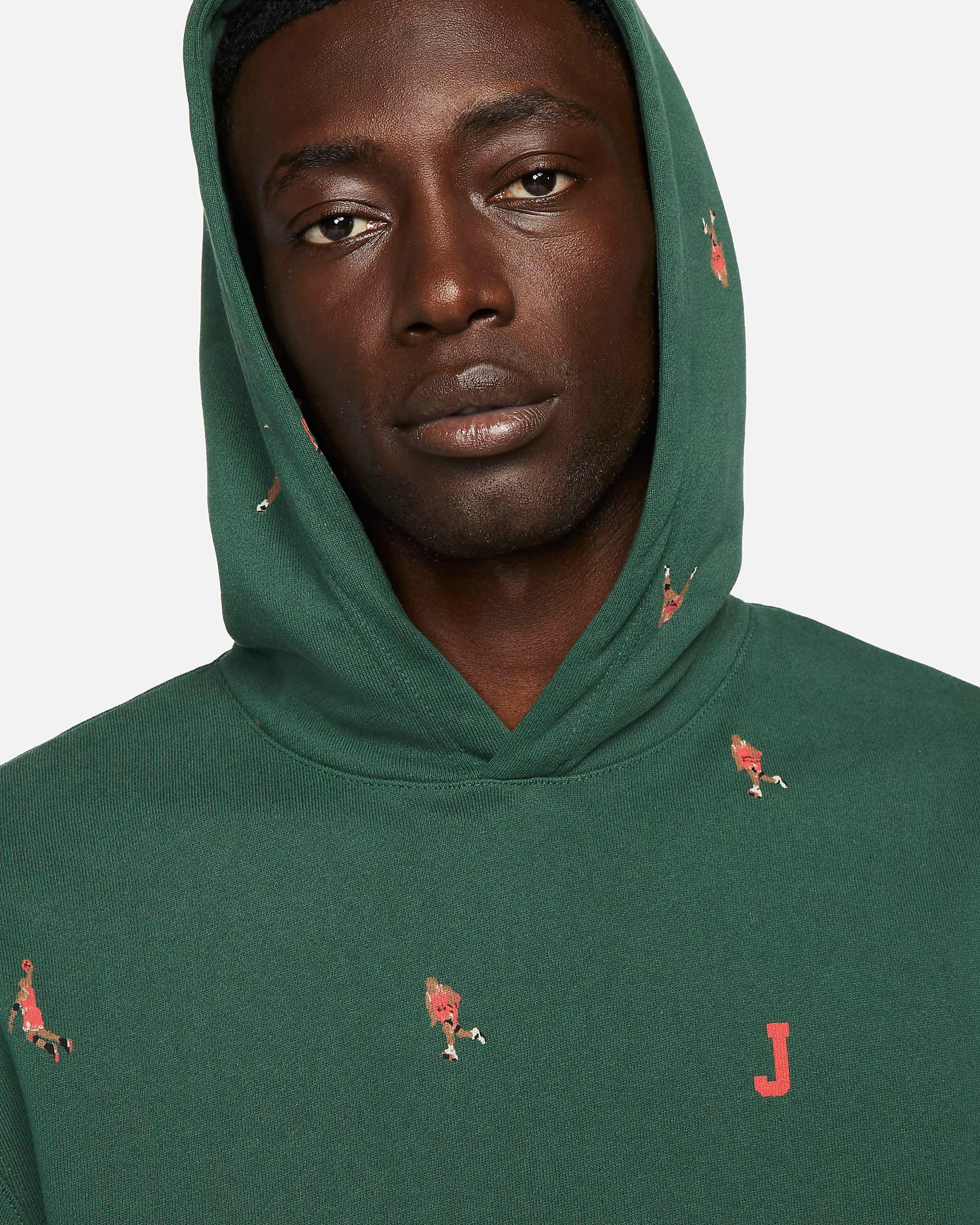 jordan-noble-green-essentials-printed-hoodie-3