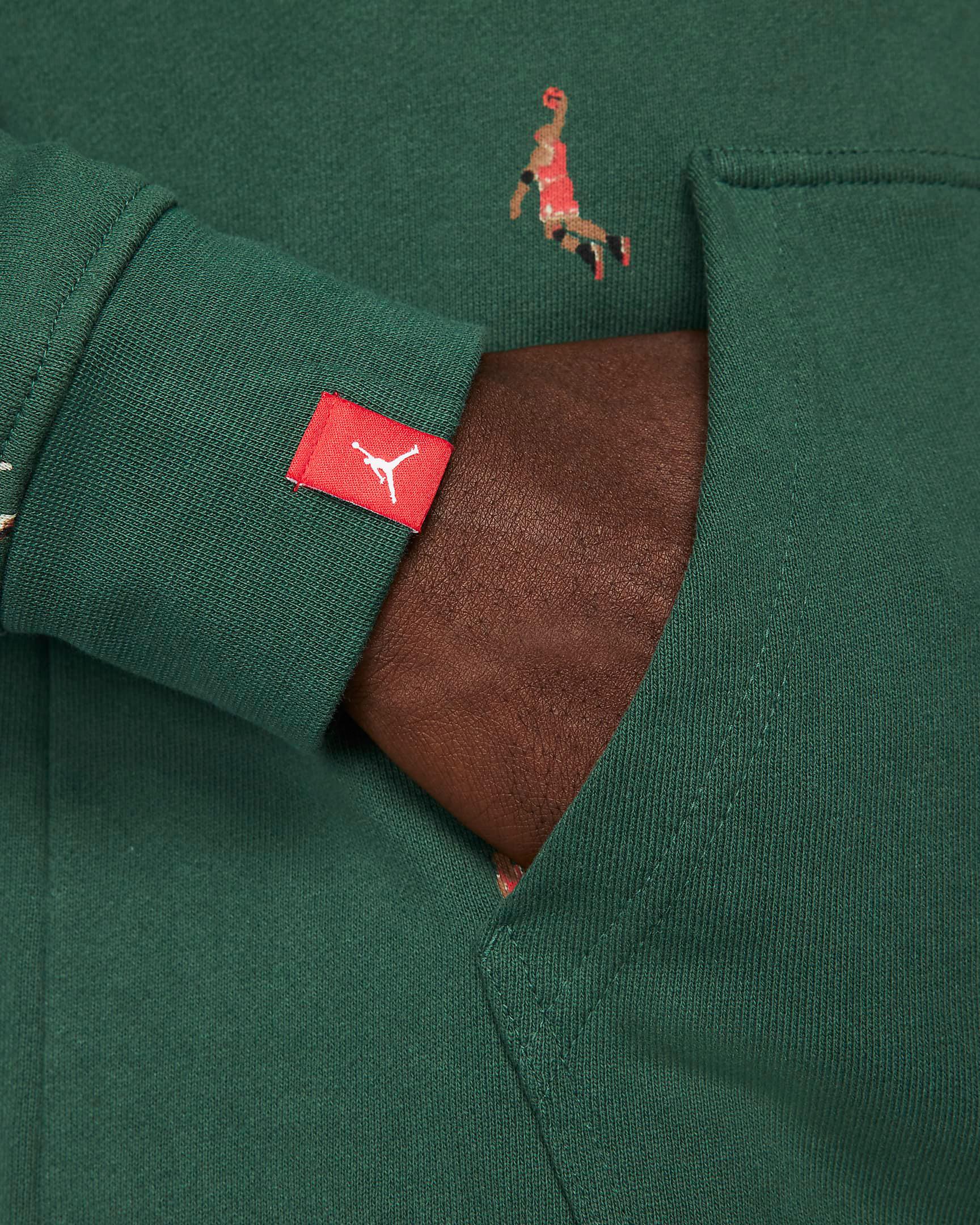 jordan-noble-green-essentials-printed-hoodie-4