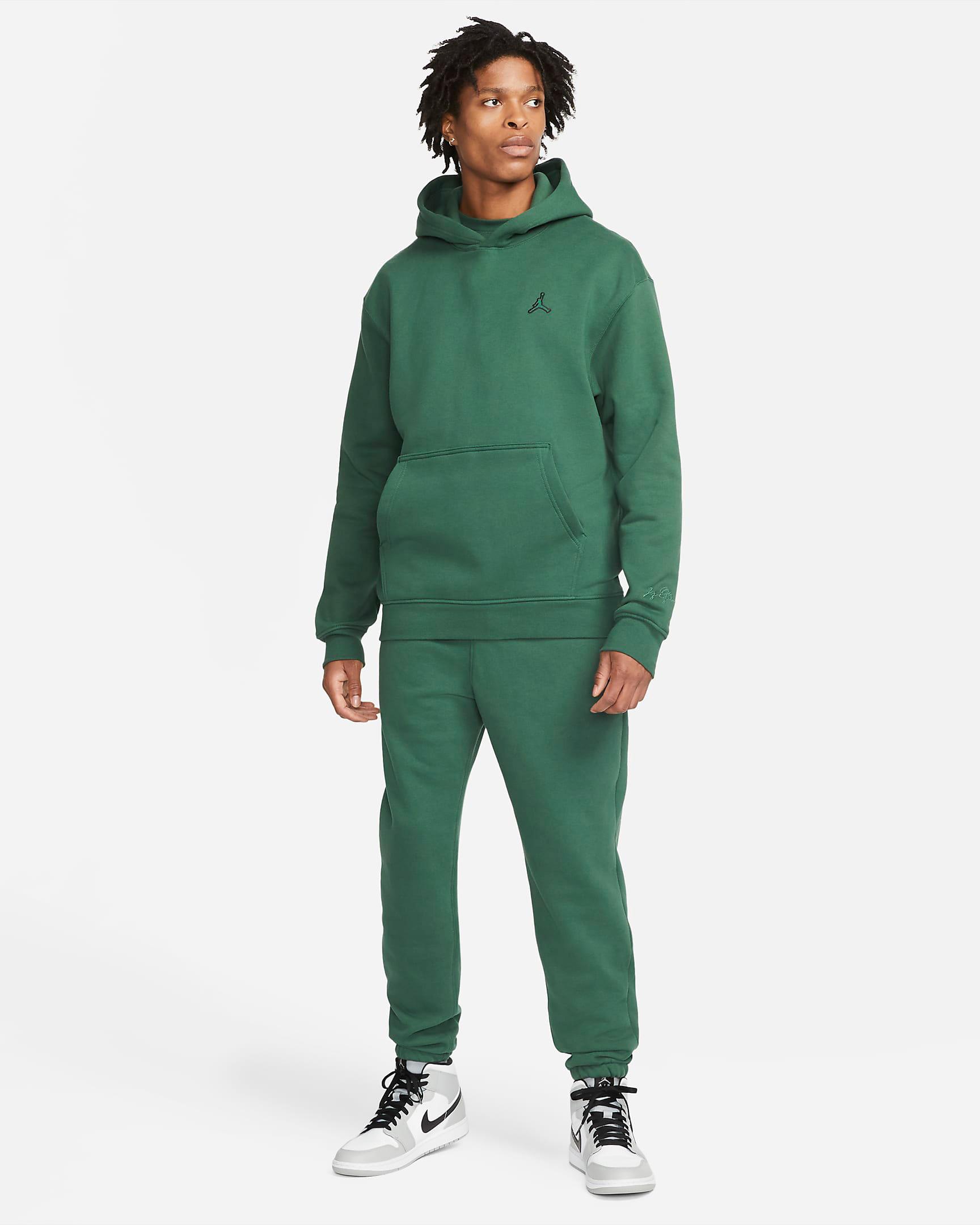 jordan-noble-green-essentials-pullover-hoodie-pants-outfit