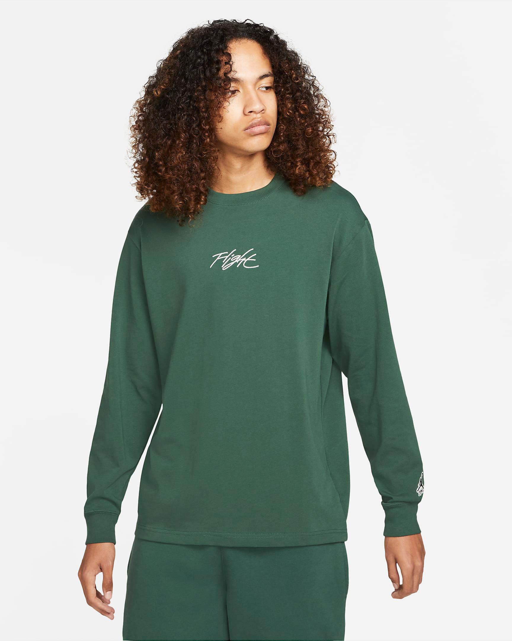 jordan-noble-green-flight-essentials-long-sleeve-shirt-1