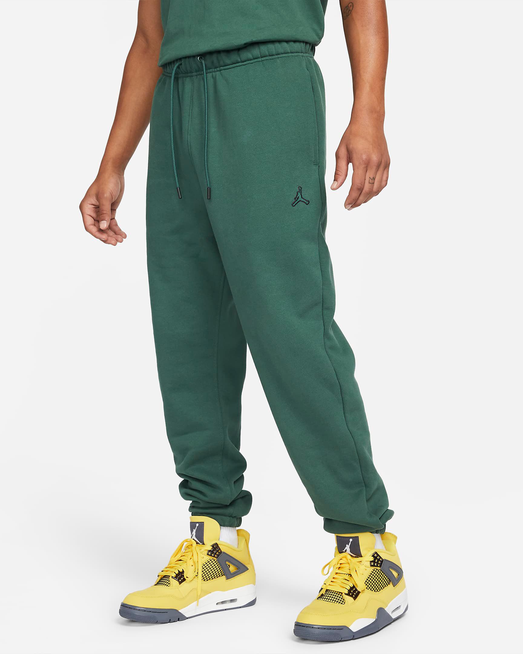 jordan-noble-green-statement-fleece-pants-1