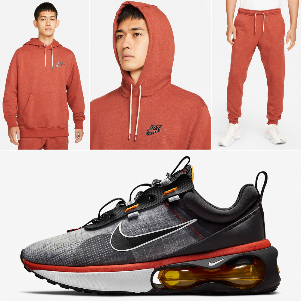 nike-air-max-2021-mystic-red-cosmic-clay-hoodie-pants-matching-outfit