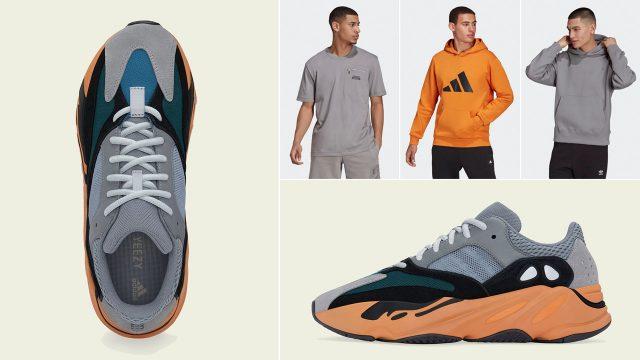 yeezy-700-wash-orange-shorts-clothing-outfits